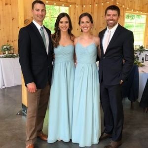 Strapless Weddington Way Bridesmaid Dress